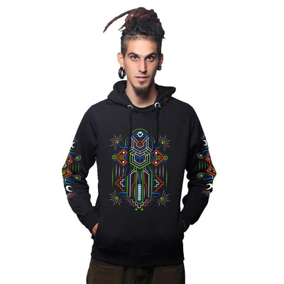 Astral Dimensions Cotton Hoodie (6115144990904)