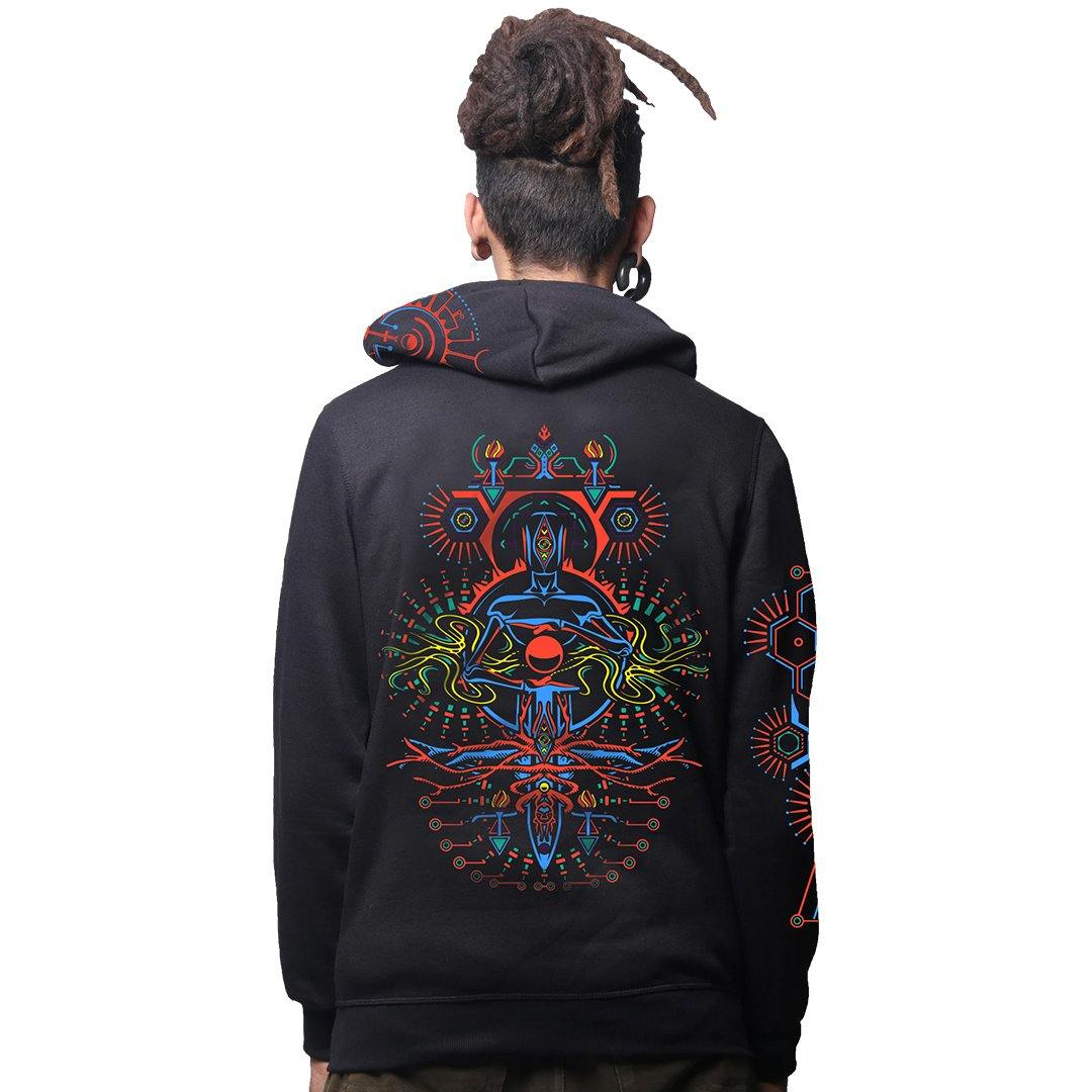 Synthesis Cotton Hoodie Zip UP (4703731875923)