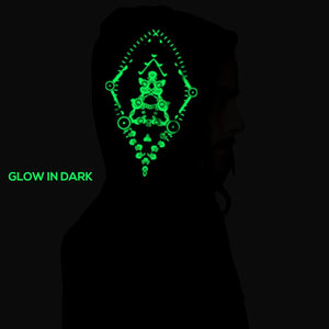 Unity Of Spirit Glow In The Dark Cotton Hoodie (4357194285139)