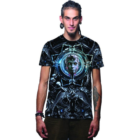 Dark Tech Sublimation T shirt (4369099653203)