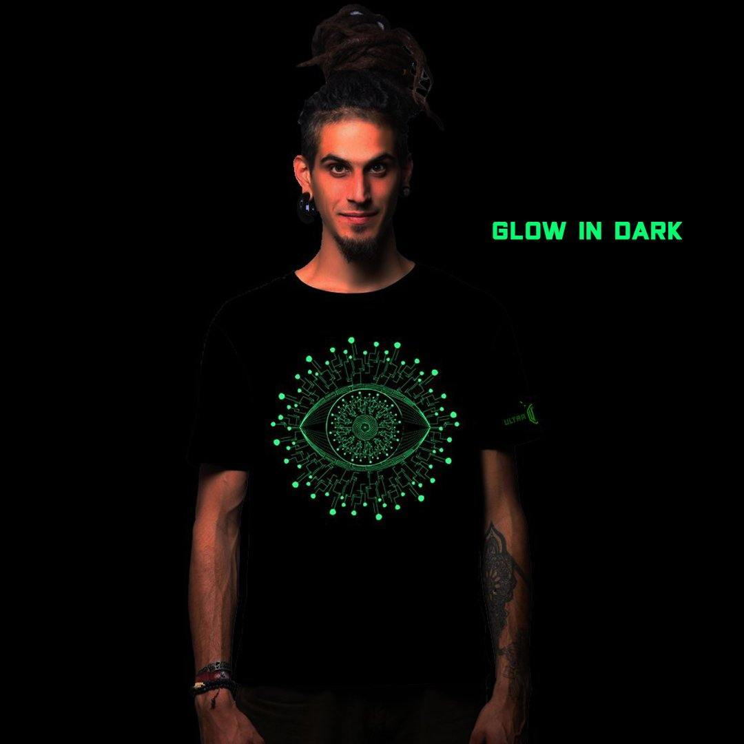 Revive Glow In The Dark Cotton Half Sleeves T Shirt (4292851957843)