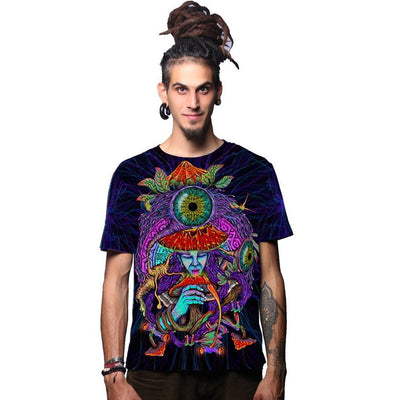 Infected Mushroom Sublimation T Shirt (4369098342483)