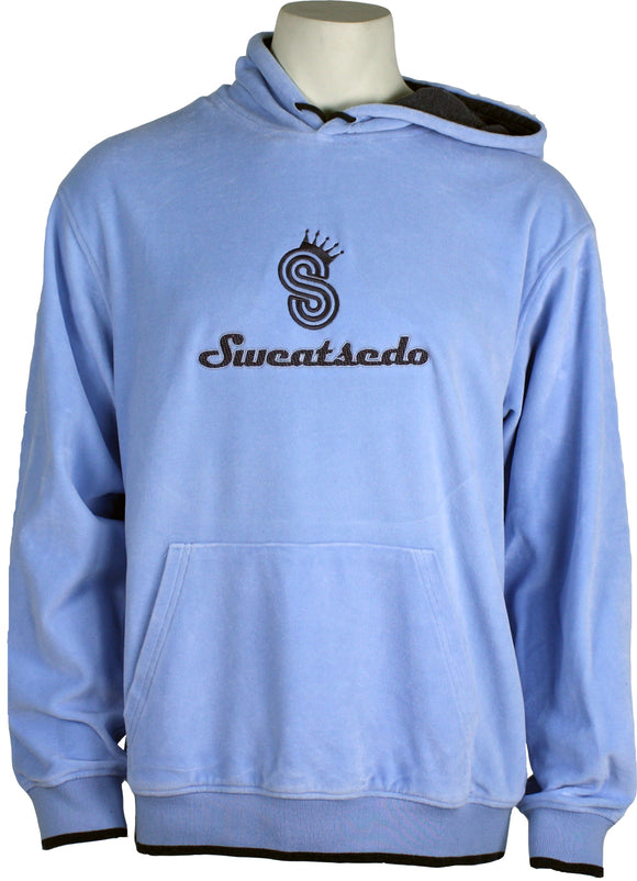 Baby Blue Logo Hooded Sweatshirt