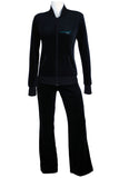 Nucleus Global Womens Sweatsedo with Collar Jacket