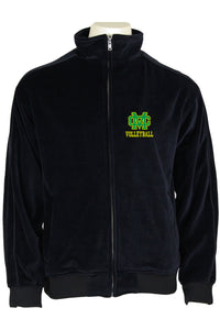Black Mira Costa Volleyball Mens Jacket