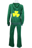 Lucky Shamrock Womens Sweatsedo