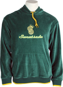 Forrest Green Logo Hooded Sweatshirt