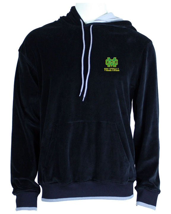 Mira Costa Volleyball Black Hooded Sweatshirt