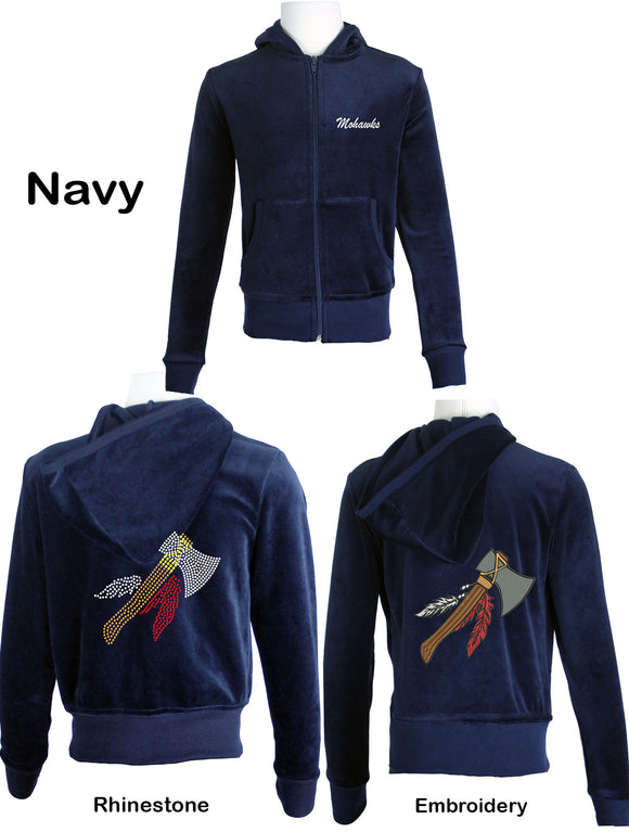 Mohawks Youth Suit Navy Blue