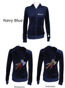 Mohawks Womens Suit Navy Blue