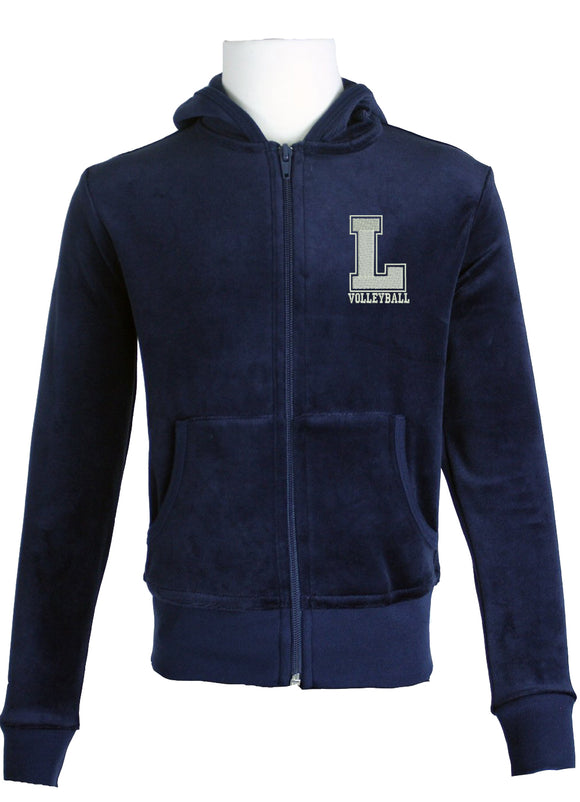 Youth Zip Hoodie Loyola Volleyball