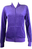Purple Passion Zip Collar Jacket