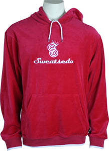 Red Logo Hooded Sweatshirt