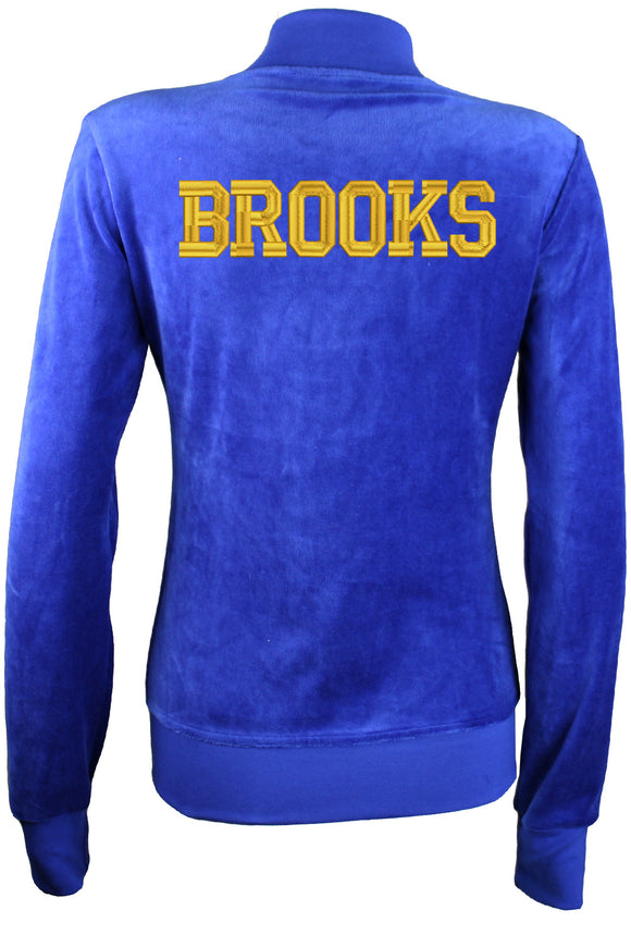 BROOKS Womens Collar Jacket Sweatsedo