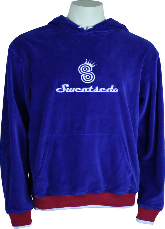 Royal Blue Logo Hooded Sweatshirt