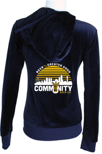 Community Beer Womens Sweatsedo Navy Blue