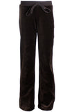 Youth Coffee Brown Velour Pants