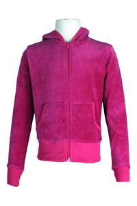 Youth Hollywood Pink Zip Hoodie