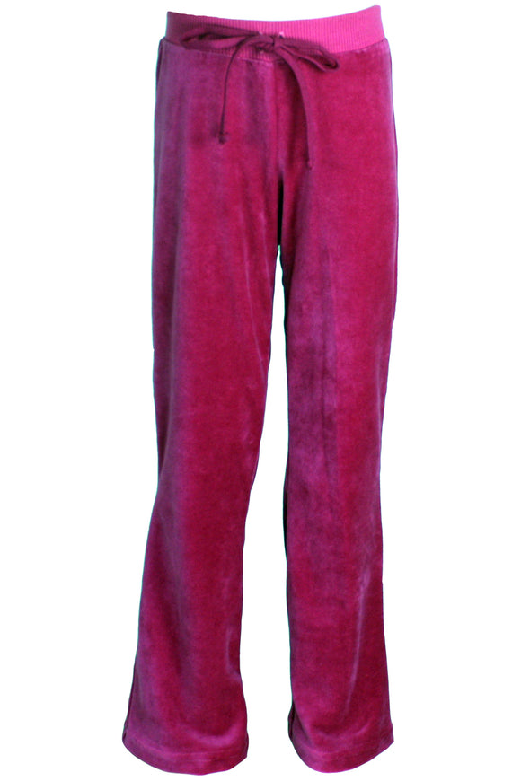 Youth Hollywood Pink Velour Pants