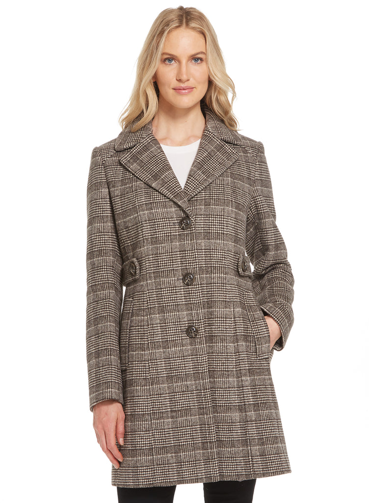 Glenn Plaid Faux Wool Walker