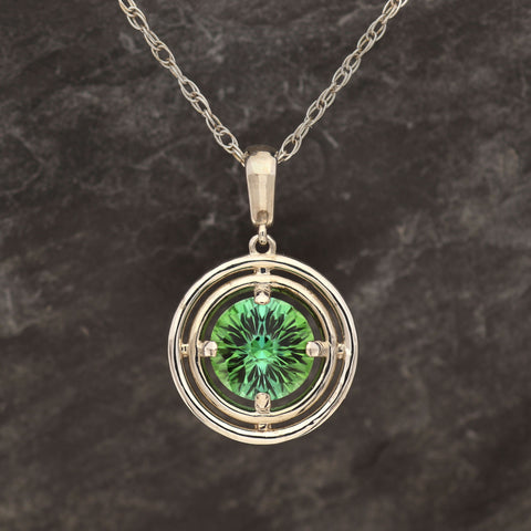 Memorial Day Pocket Tourmaline Pendant