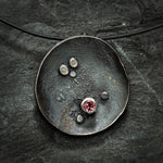 Domed Constellation Necklace