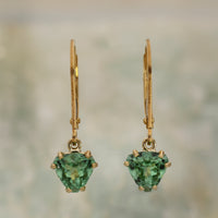 Havey Mine Green Tourmaline Earrings