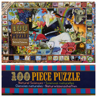 Natural Science Puzzle with Poster