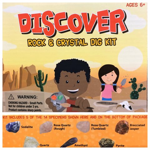 Rock and Crystal Dig Kit