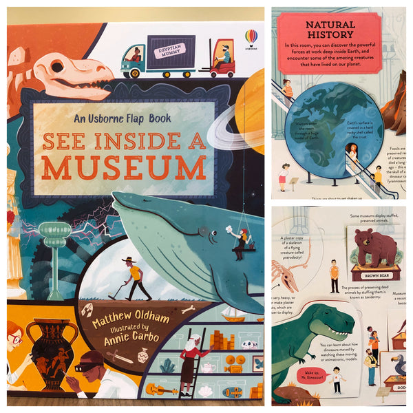 """See Inside A Museum"" Flap Book"