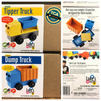 Puzzle Play Trucks