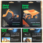 Steel Model Kit - Excavator and Mining Truck