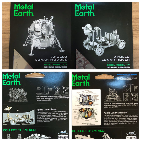 Metal Earth Steel Model Kit - Apollo