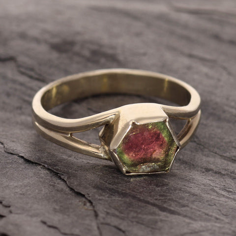 Petite Watermelon slice ring