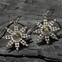 Maine Snowflake Earrings