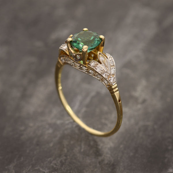 Mt. Apatite Tourmaline Ring