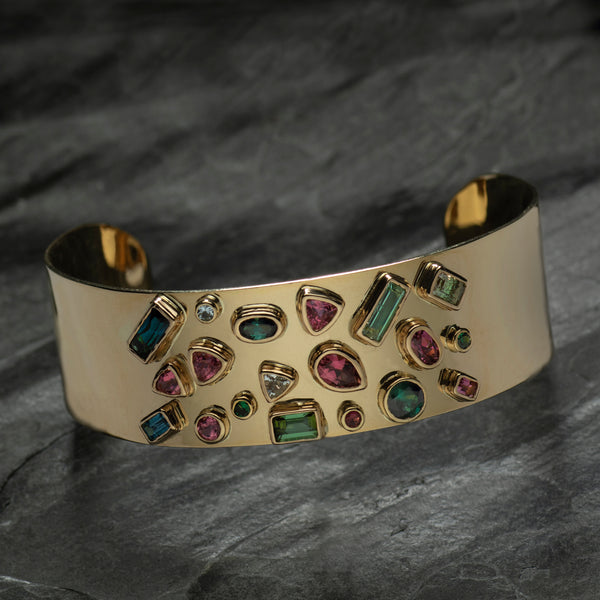 """Over the Rainbow"" Bracelets by Paula Crevoshay"