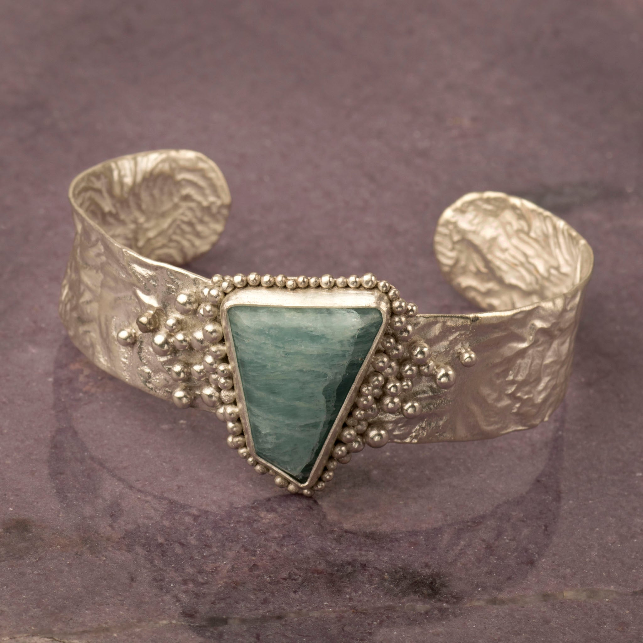Handcrafted Reticulated Cuff