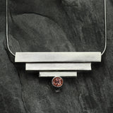 Square Tube Pendant by Cathy Heinz Designs