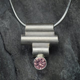 Sterling Silver Stacked Pendant