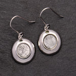 Petite Disc Earrings