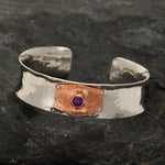 Anticlastic Bracelets with Copper-VWD Jewelry
