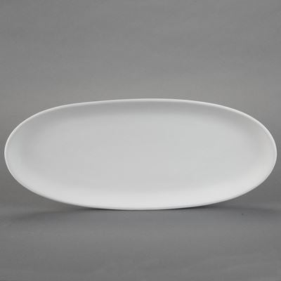 Oval French Bread Plate  6cs