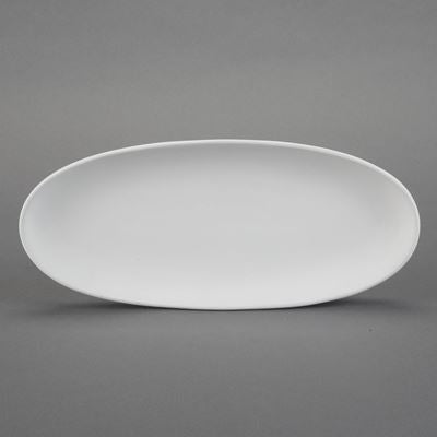 Medium Oval French Bread Plate  6cs