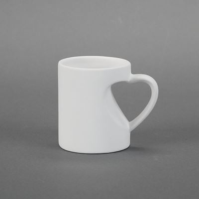 Small Heart Mug  24cs