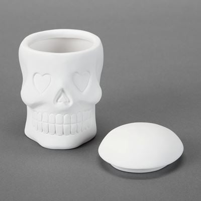 Day of the Dead Skull Box  6cs