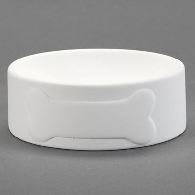 Dog Bowl with Bone