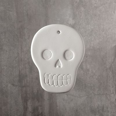 Skull Ornament  24cs