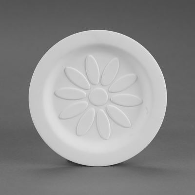 Ten Petal Flower Plate  6cs