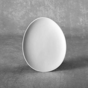 Small Egg Plate  6cs